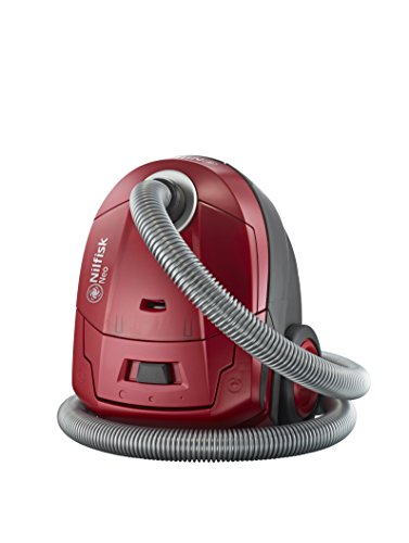 Nilfisk 128350570 Aspirador de Trineo con Bolsa Rojo Neo R10P05A, Set de 7 Piezas