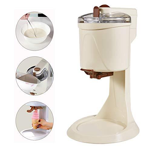 XYUN Eiscreme-Hersteller, Vollautomatische Mini Fruit Softeis-Maschine, gesund, Molkerei frei, einfache One Push Betrieb, for Heim DIY Küche