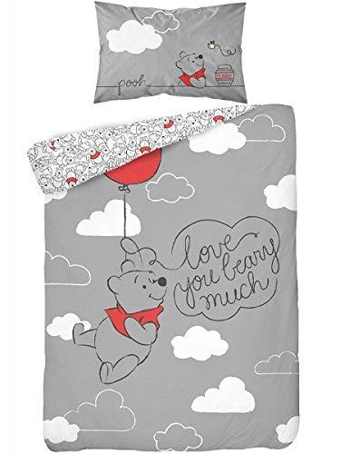 Detexpol Ropa de cama infantil de 2 piezas, funda nórdica de 100 x 135 cm y funda de almohada de 40...