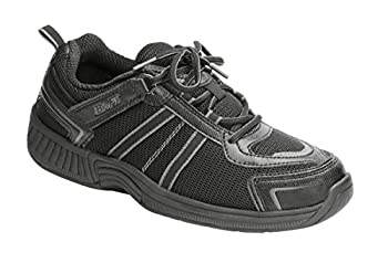Orthofeet Proven Heel and Foot Pain Relief Orthopedic Sneakers Extended Widths Arch Support Diabetic Women s Athletic Shoes Tahoe Black