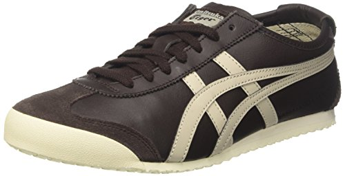 Asics Asics Unisex-Erwachsene Mexico 66 Gymnastikschuhe, Braun (Coffee/feather Grey), 44 EU