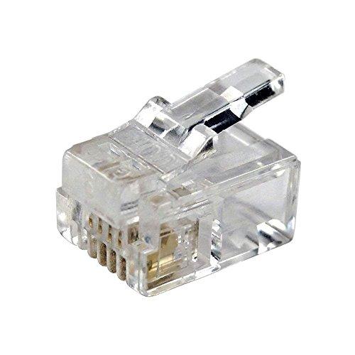 Rj11 Crimpstecker Für Telefonkabel Und Datenkabel Elektronik