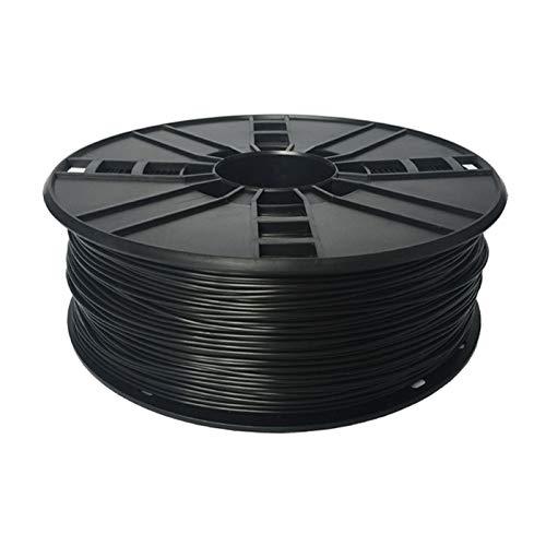 Gembird TPE Black, 1.75mm, 1kg of flexible TPU/TPE filament made in EU for desktop 3D printer