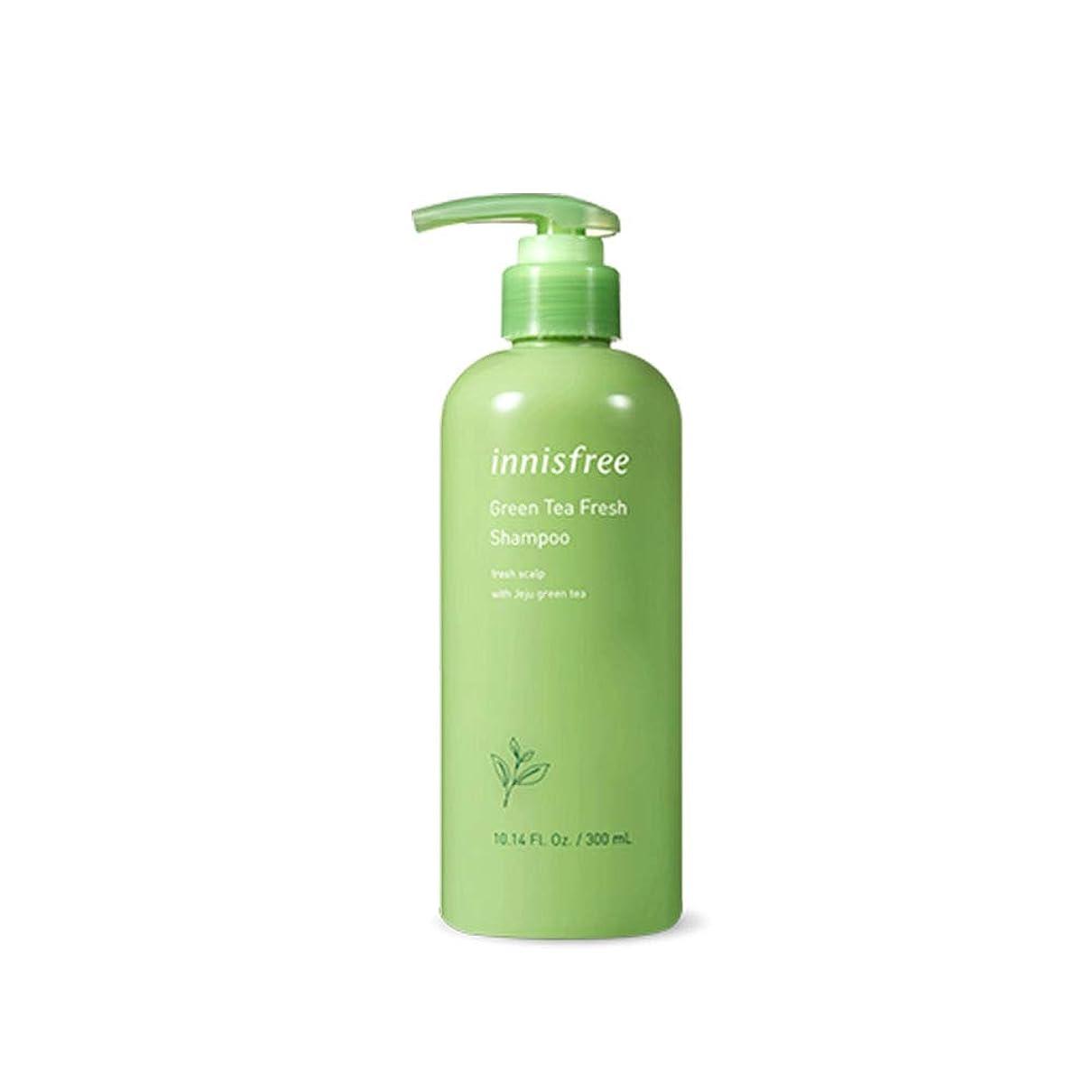 熟練した印象的な留まるイニスフリー Innisfree 緑茶ミントフレッシュシャンプー(300ml) Innisfree Green Tea Mint Fresh Shampoo (300ml) [海外直送品]