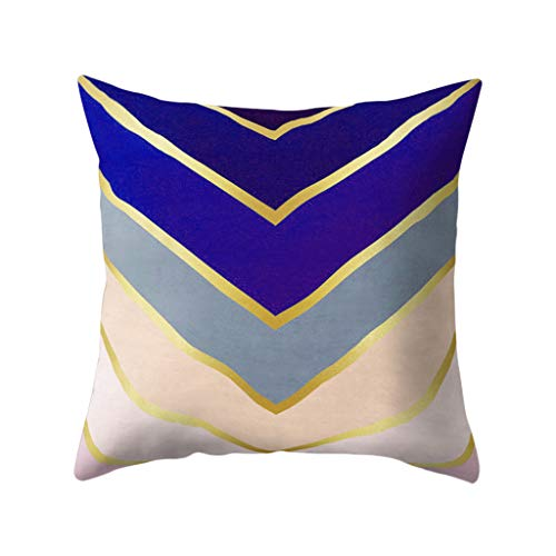 FatCat Wall Graphics Decorative Three Dimensional Diamond Cushion Cover Pillow Cases Throw Pillow Unique Design Outdoor Shell Cushion Cover for Sofa Couch Bedroom 18X18 Inch