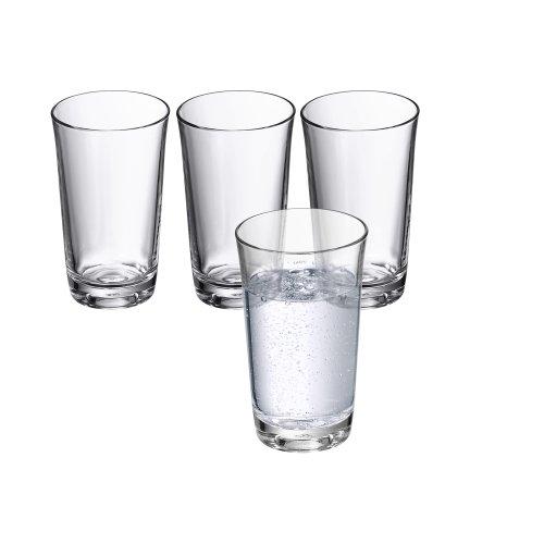WMF 0950509995 Wasserglas-Set, 4-teilig, 0,25 L Basic