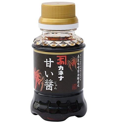 長友味噌醤油醸造元 カネナしょうゆ カネナこいくちしょうゆ「甘い醤」(甘口) 100ml
