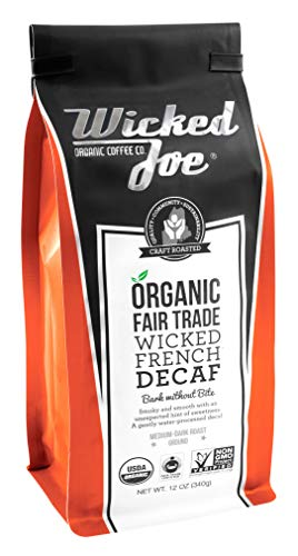 Wicked Joe Organic Coffee French Decaf
