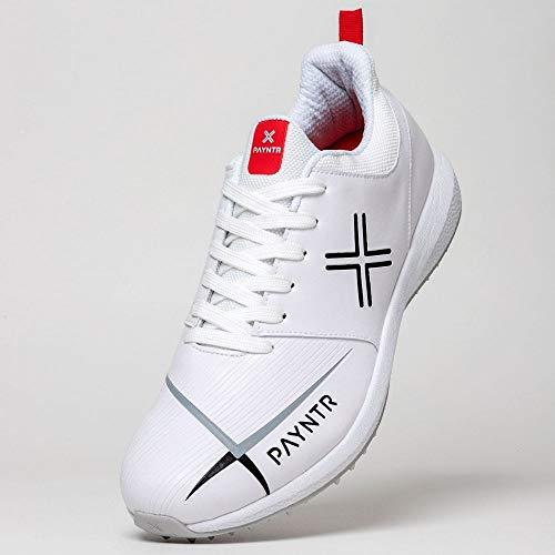 Payntr V Pimple - Classic White Cricket Shoes US13/UK12