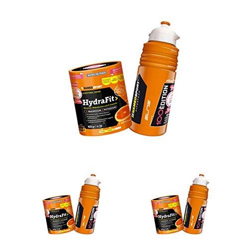 HydraFit Named Sport - Integratore alimentare di sali minerali, magnesio, potassio e un complesso di nove vitamine - Offerta da 3 confezioni