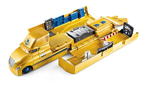 Cars Mattel Disney FLK11 Disney Transporter - Set da Gioco Cruz Ramirez
