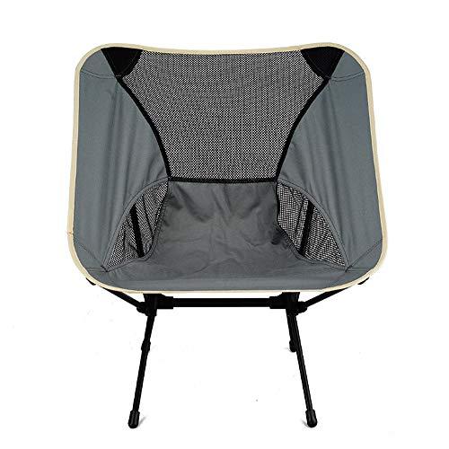 TSSM Outdoor Ultra-Light Klappstuhl mit Tragetasche, Casual Strandkorb, geeignet für Rucksackreisen, Wandern, Angeln Picknick