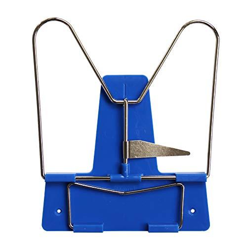 Idena 12082 - Leseständer mit Metallbügel, blau, 1 Stück