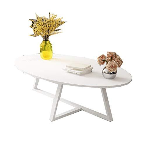 ZHongWei Mesa de Centro, Algunas mesas de té Mesa Ovalada Sala de...