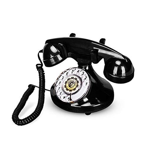 Geef nooit op de Europese antieke telefoon van het vaste telefoonnet Amerikaans retro hoofdtelefoon telefoon telefoon mechanische koperen klassiek antiek vaste net van de bel Vintage