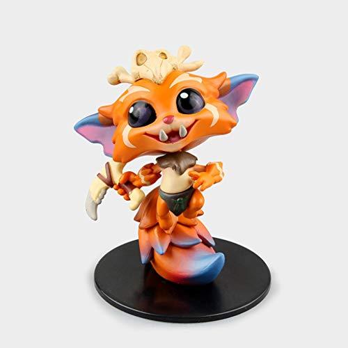 LYN Personajes de League Of Legends Acerca de 8CM-LOL Modelo de juguete Nar-game, figura de coleccionista