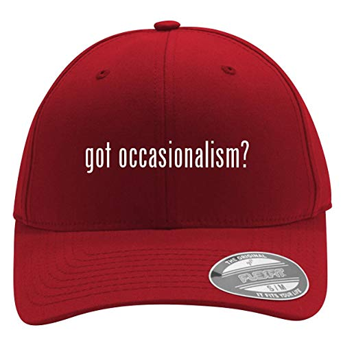 got Occasionalism? - Men's Flexfit Baseball Cap Hat, Red, Large/X-Large