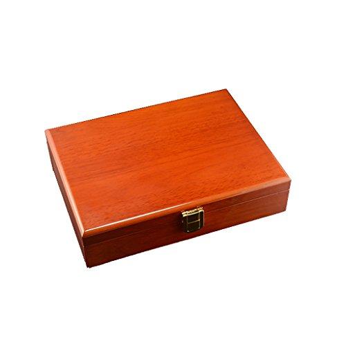 perfeclan Ringe-Box Ringschachtel Schmuckschatulle Schmuckkästen Manschettenknöpfe-Kasten