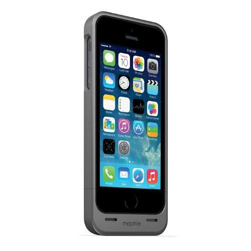 【日本正規代理店品】mophie juice pack helium for iPhone 5s/5 ダークメタリック MOP-PH-000027