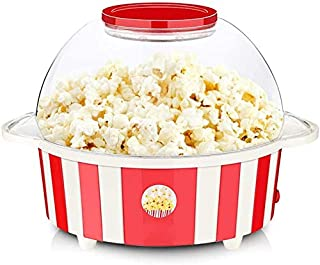 850W grande capacité Popcorn Popper, machine à maïs soufflé à l'huile chaude entièrement automatique avec tige d'agitatio...