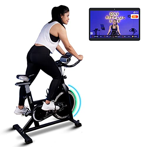 Fitkit FK717 (14lbs Flywheel) Spinner Exercise Bike with...