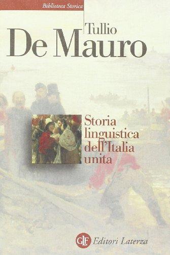 STORIA LINGUISTICA DELL'ITALIA UNIT
