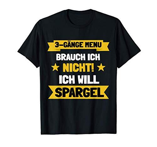 Spargel Outfits Erntehelfer Landwirt Gemüsegärtner Geschenk T-Shirt