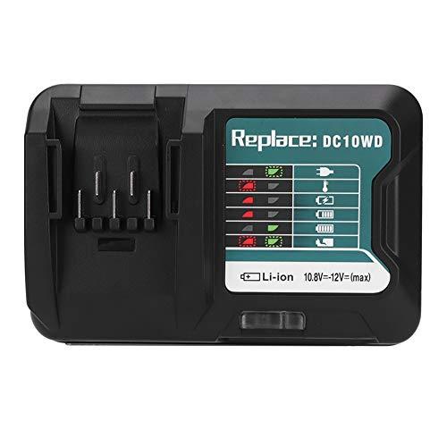 SANON Cargador de Batería de Litio Apto para Makita Bl1016 12V Dc10wd 100-260V Enchufe EU