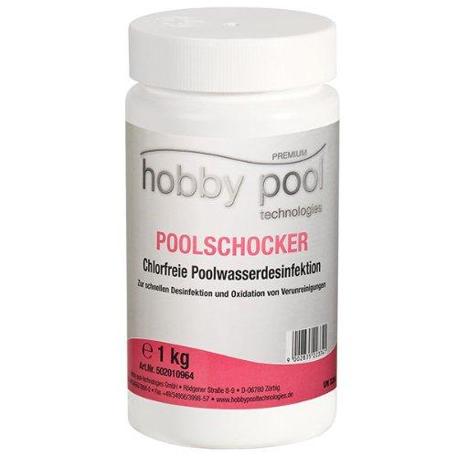 Unbekannt Poolschocker-chlorfreie Poolwasserdesinfektion 1kg