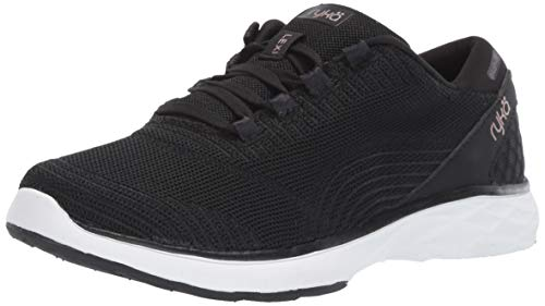 Ryka Women's Lexi Walking Shoe, Black, 5 M US