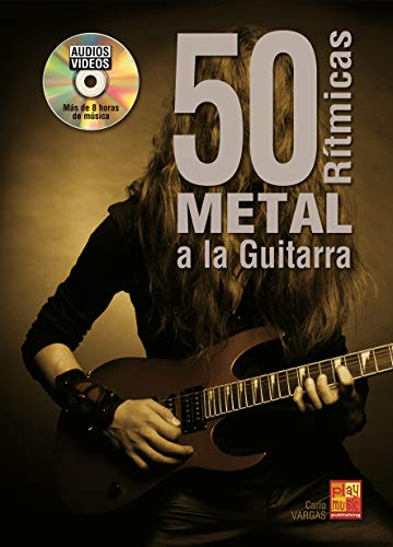 clasificación y comparación 50 guitarras de metal rítmico – 1 libro + 1 CD (audio / video) para casa