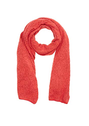 s.Oliver Damen 39.911.91.3674 Schal, Rot (Red Knit 32x1), One Size (Herstellergröße: 1)
