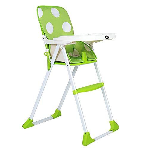 Ruimtebesparend voor kinderhoge stoelen, een goede hulp voor de verzorging van kinderhoge stoel, draagbare kinderstoel met dienblad, antislip, voeding, veilig voor poppen.