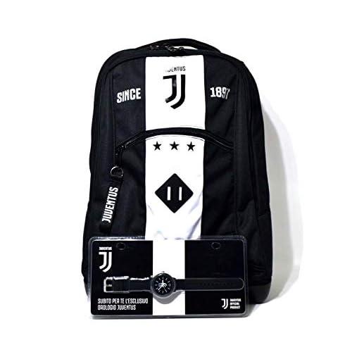 SEVEN SPA F.C. Juventus - Schoolpack Juventus League - Zaino Trolley + Orologio + Omaggio (easybag)