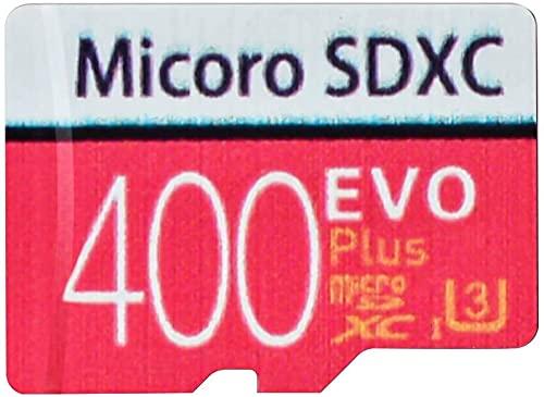 Scheda di memoria Micro SD ad alta velocità 128/256/400/512/1024 GB, progettata per smartphone Android, tablet Classe 10, scheda di memoria SDXC con adattatore (400 GB)