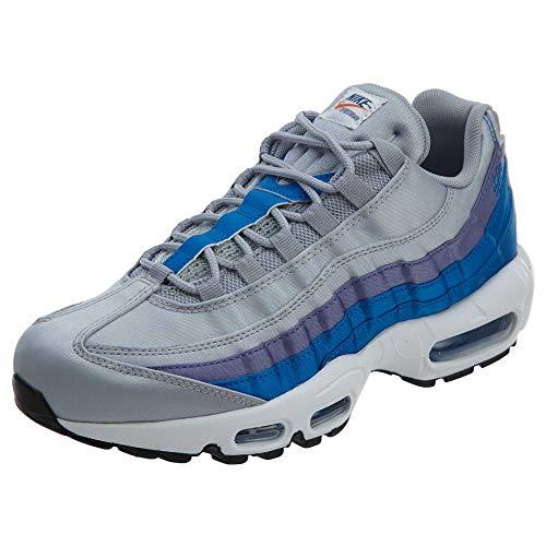 Nike Air Max 95 Se Wolf GreyBlue Nebula Purple s, Größe:12