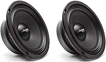 Skar Audio (2) FSX65-4 (2) FSX65-4 300-Watt 6.5-Inch 4 Ohm MID-Range Loudspeakers - 2 Speakers