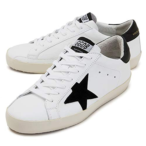 Golden Goose Zapatos casuales para caminar Super Star Black Tab Zapatillas deportivas para mujer, color, talla 40 EU