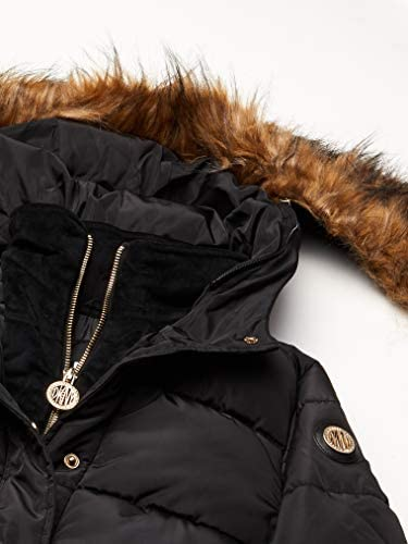 bomber black 10//12 DKNY Girls Big Puffer Jacket