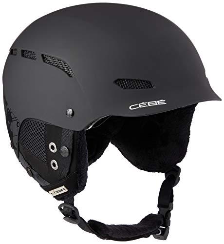 Cébé Dusk Casco de Ski Black Adultos Unisex 56-58 cm