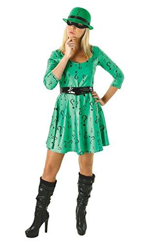 Dc Classic Female Riddler. Batman Movie Fancy Dress Costume