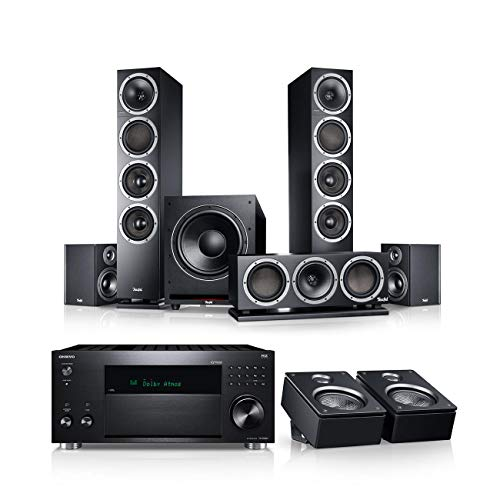 Teufel Theater 500 Surround AVR für Dolby Atmos 5.1.2