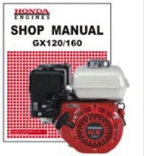 61ZH700E3 Honda GX120K1 GX160K1 GX200 Rammer Engine Shop Manual
