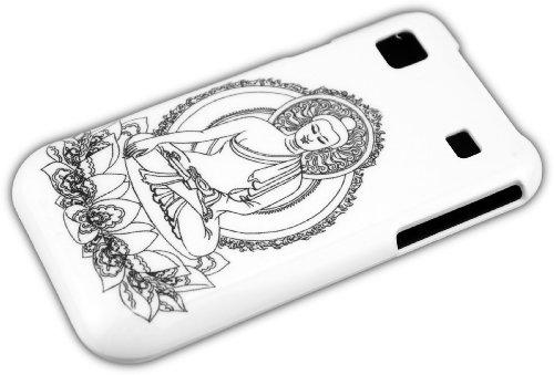 thematys® Samsung Galaxy S1 i9000 i9001 S Plus Estatua de Buddha Carcasa...