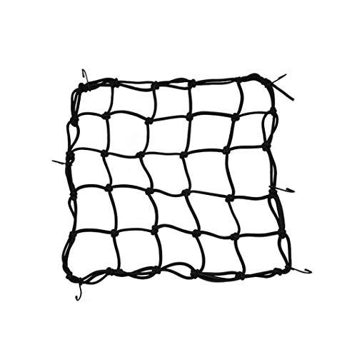 elastische MotorradHelm Netz Paket Gep/äcktr/äger Gep/äcknetz mit Haken