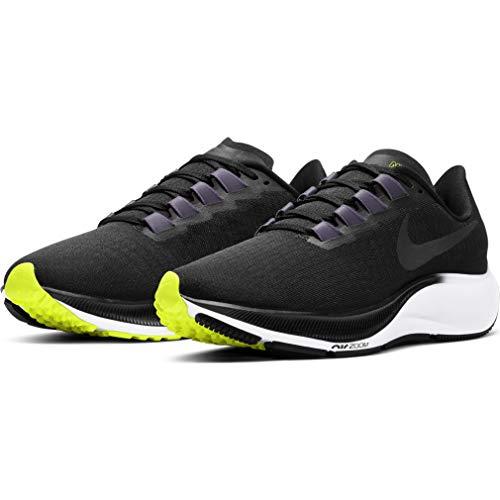 Nike Wmns Air Zoom Pegasus 37, Zapatillas para Correr para Mujer, White Flash Crimson Hyper Violet Spruce Aura Vapor Green Black, 38 EU
