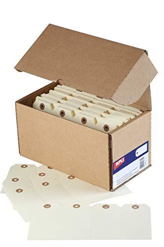 APLI 121374 - Etiquetas con arandela 100 x 51 mm 1.000 u.