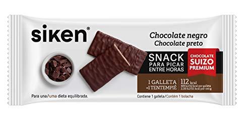 Siken Form snack - Galleta de chocolate negro de 22 g. 122 Kcal/galleta.