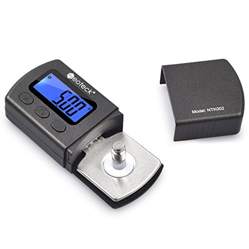 Neoteck Digital Turntable Stylus Force Scale Gauge Tester 0.01g Blue LCD...