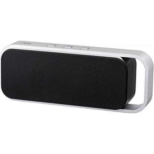JVC SP-ABT1-B-E Bluetooth Lautsprecher (v3.0 Bluetooth, NFC, 3,5 mm Klinke, 6 Watt, micro-USB) schwarz